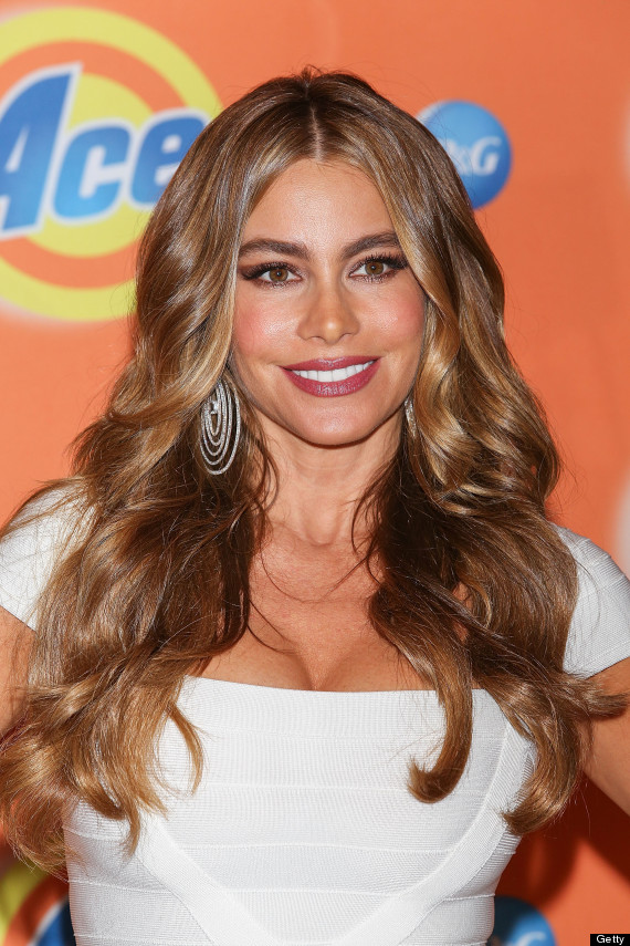 Sofia Vergara Natural Hair Color