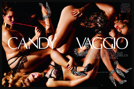plus size models candy