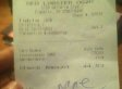Racist Receipt Apparently Left By Red Lobster Customer (PHOTO)