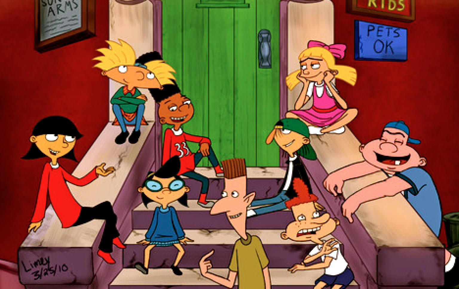 Our Dream 'Hey Arnold!' Cast In Real Life | HuffPost