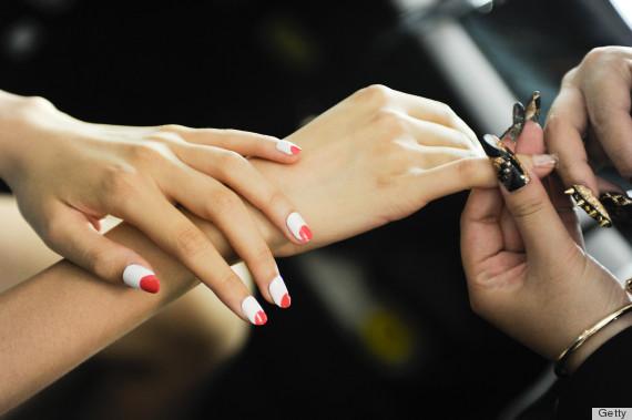 desigual nails spring 2014