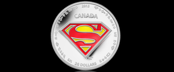 SUPERMAN COINS CANADA
