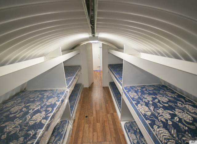 Backyard Fallout Shelter prepare for apocalypse: tour an underground shelter (video, photos