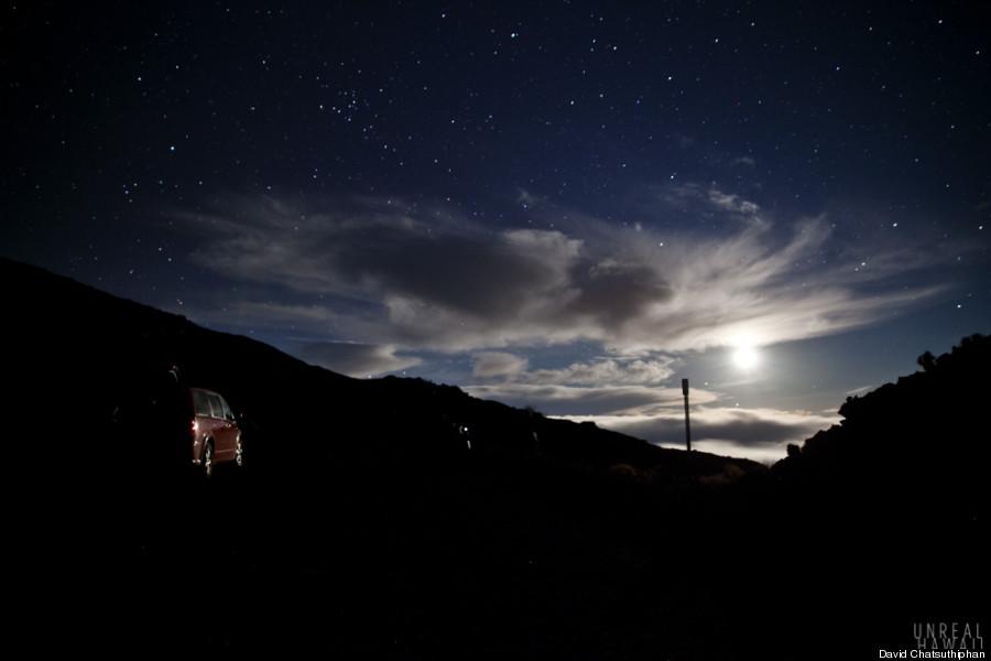 big island moonrise 2