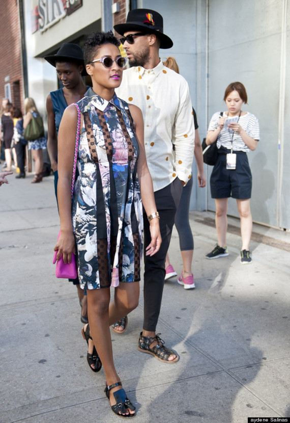 New York Fashion Week Street Style Our Favorite Looks From Day 3 4 Photos Huffpost
