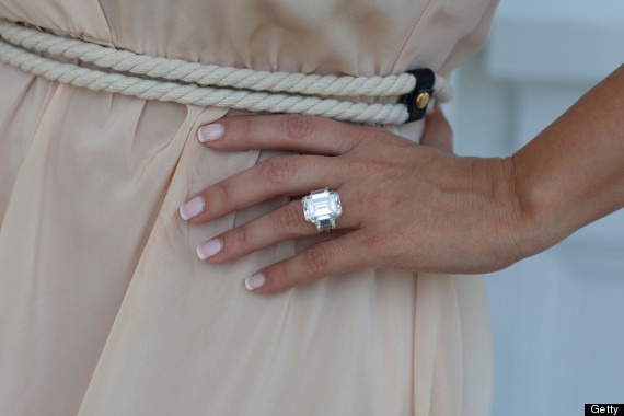 Kim Kardashians Former Engagement Ring Might Be Auctioned Off To