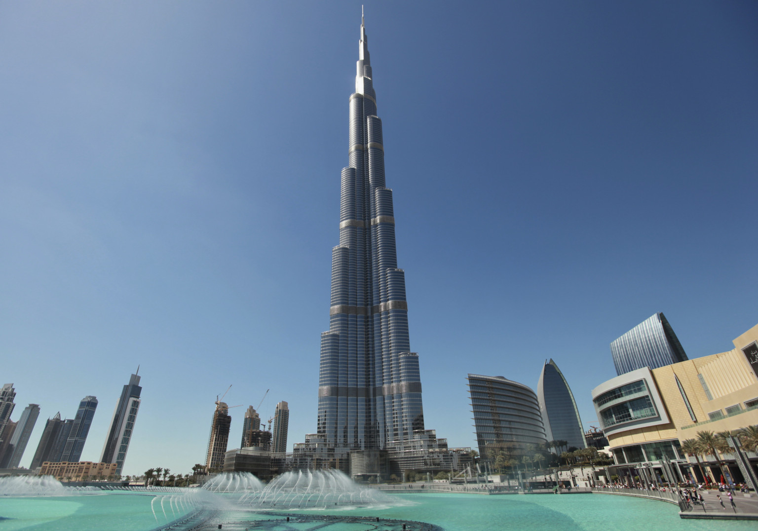 Todo sobre el Burj Khalifa, el edificio más alto del mundo