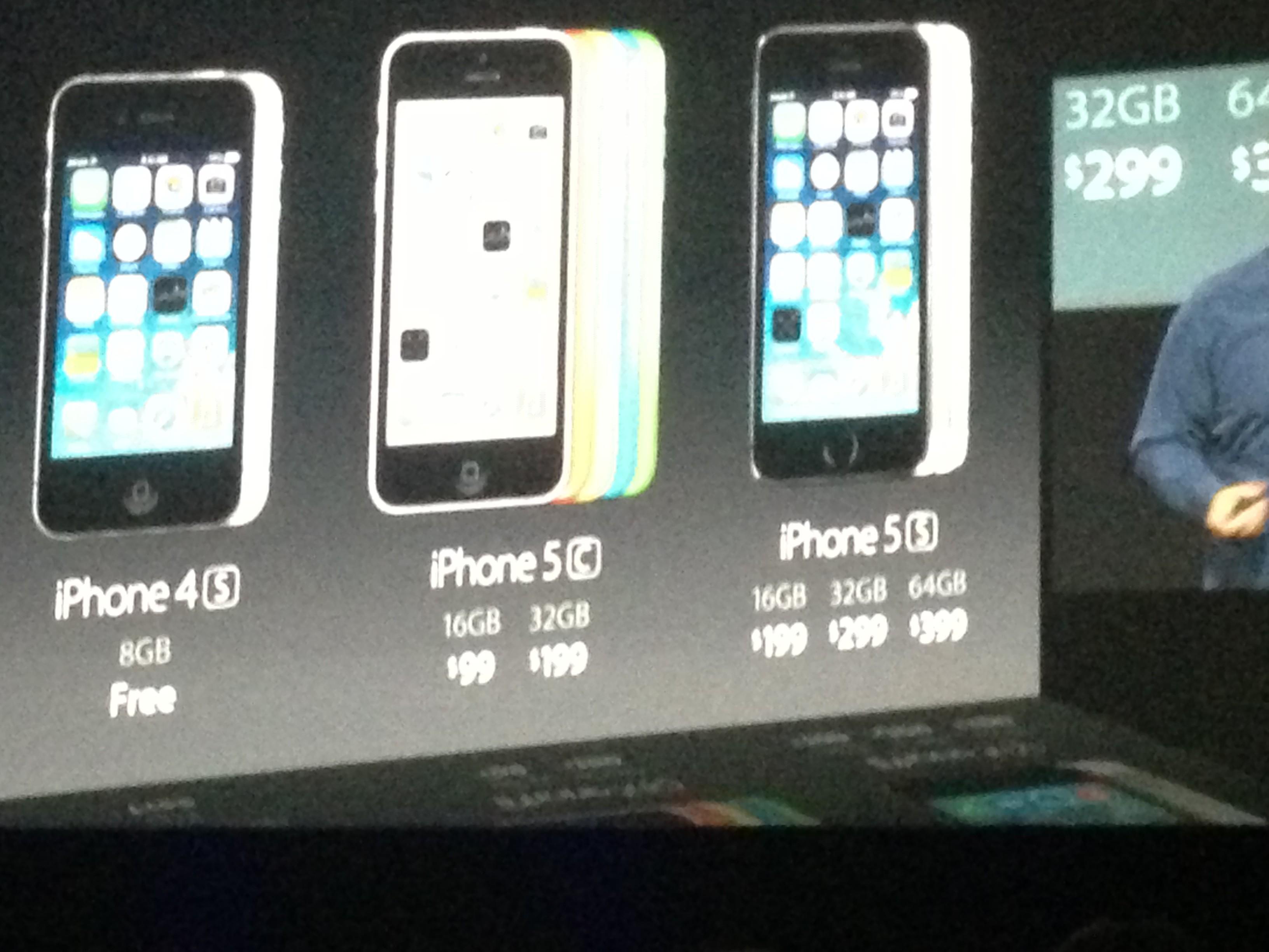 date de sortie des iphone 5s et 5c prix nouveaut s retour sur les annonces d 39 apple. Black Bedroom Furniture Sets. Home Design Ideas