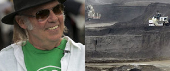 Neil Young Oilsands concerts
