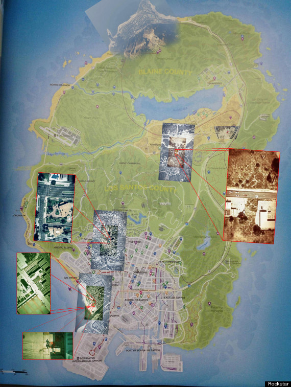 Gta 5 Map Leak GTA 5 Map Leaked: Full...