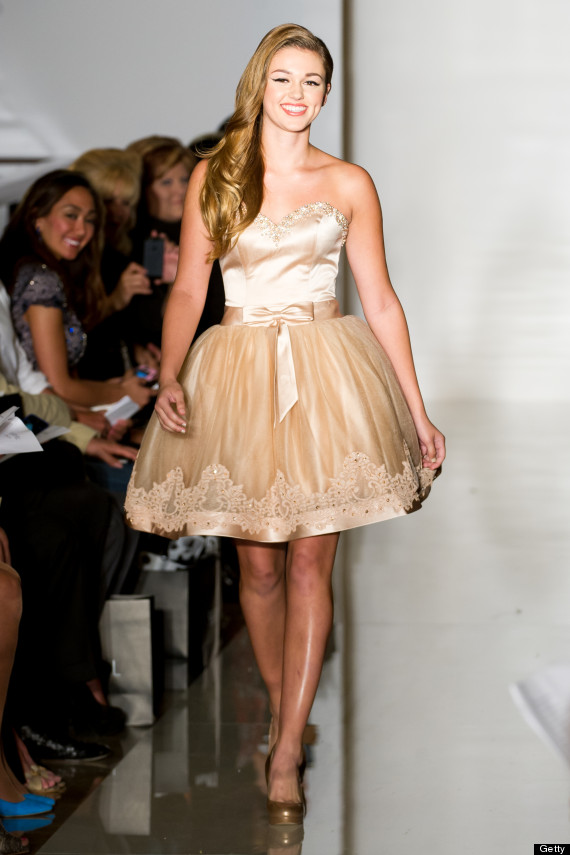 Duck Dynasty' Daughter Sadie Robertson Walks The Runway At New York