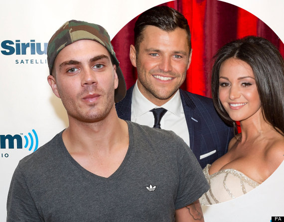 max george michelle keegan mark wright