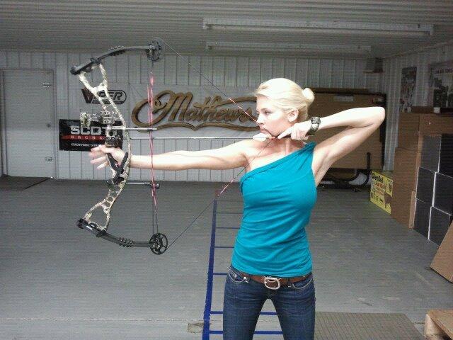 Archery boob girl georgia