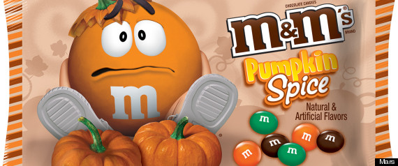 pumpkin spice M&M's