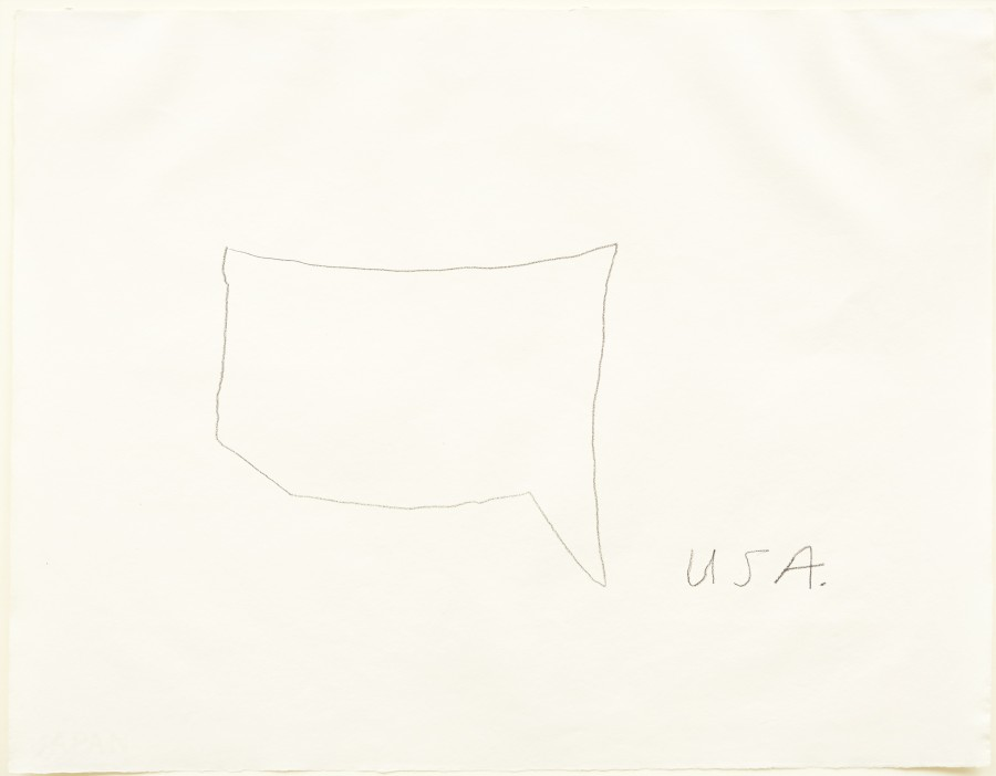 Famous Artists Draw The United States From Memory HuffPost - Sketch drawing us map