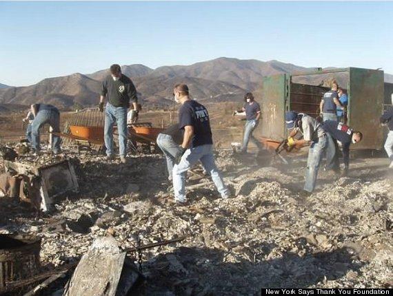 san diego wildfire clean up 2007