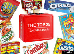 Top 25 Old-School Lunchbox Snacks... Ranked