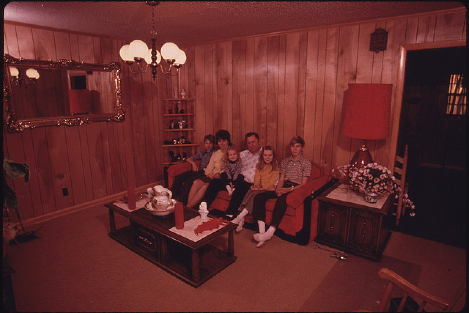 The 7 biggest design sins of decades past photos huffpost Curtains for wood paneled room