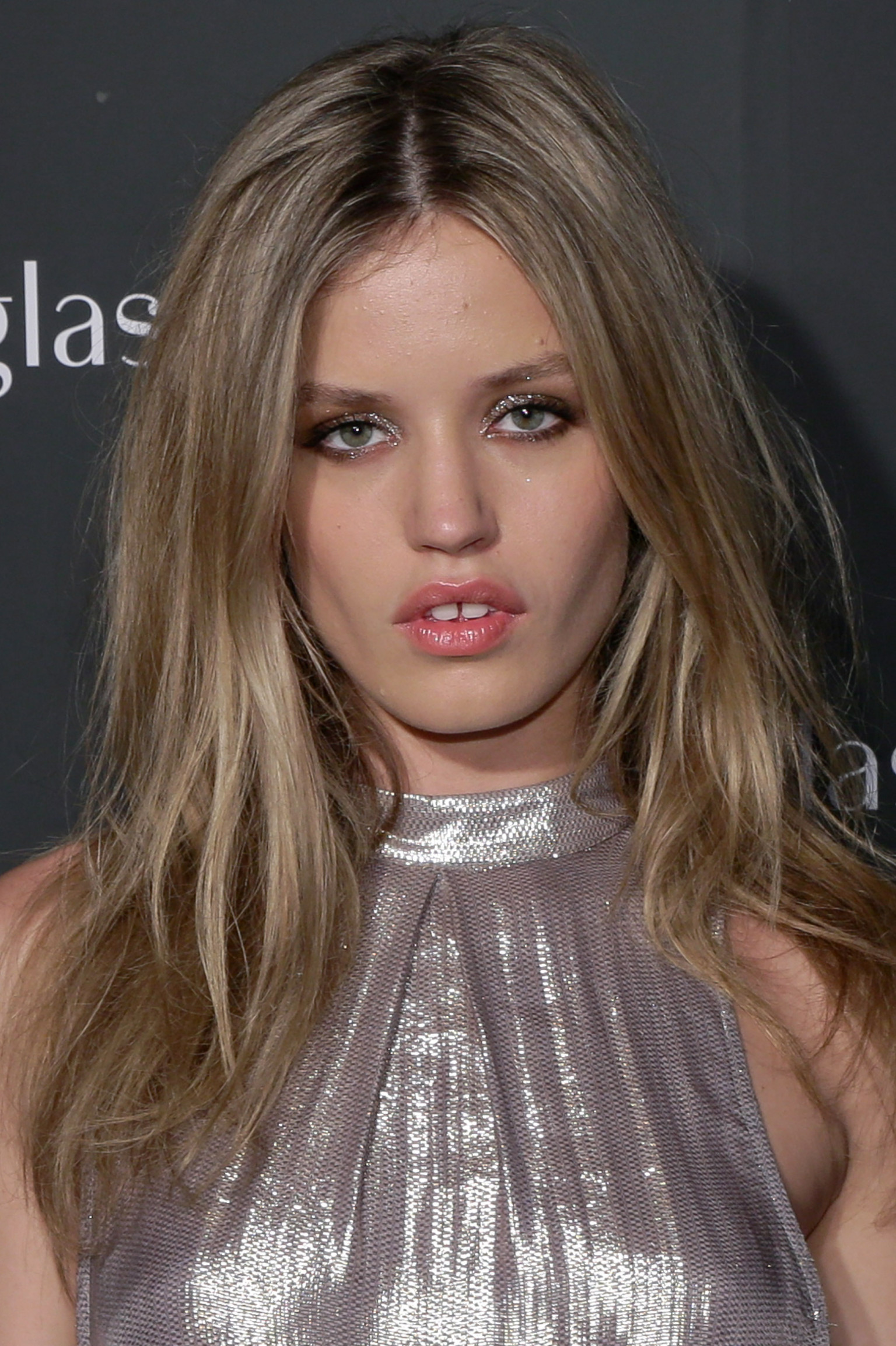 Georgia May Jagger Suffers A Nip Slip At New York Fashion