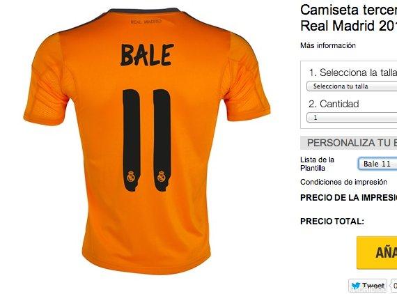 bale camiseta naranja