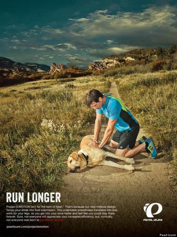 running ad