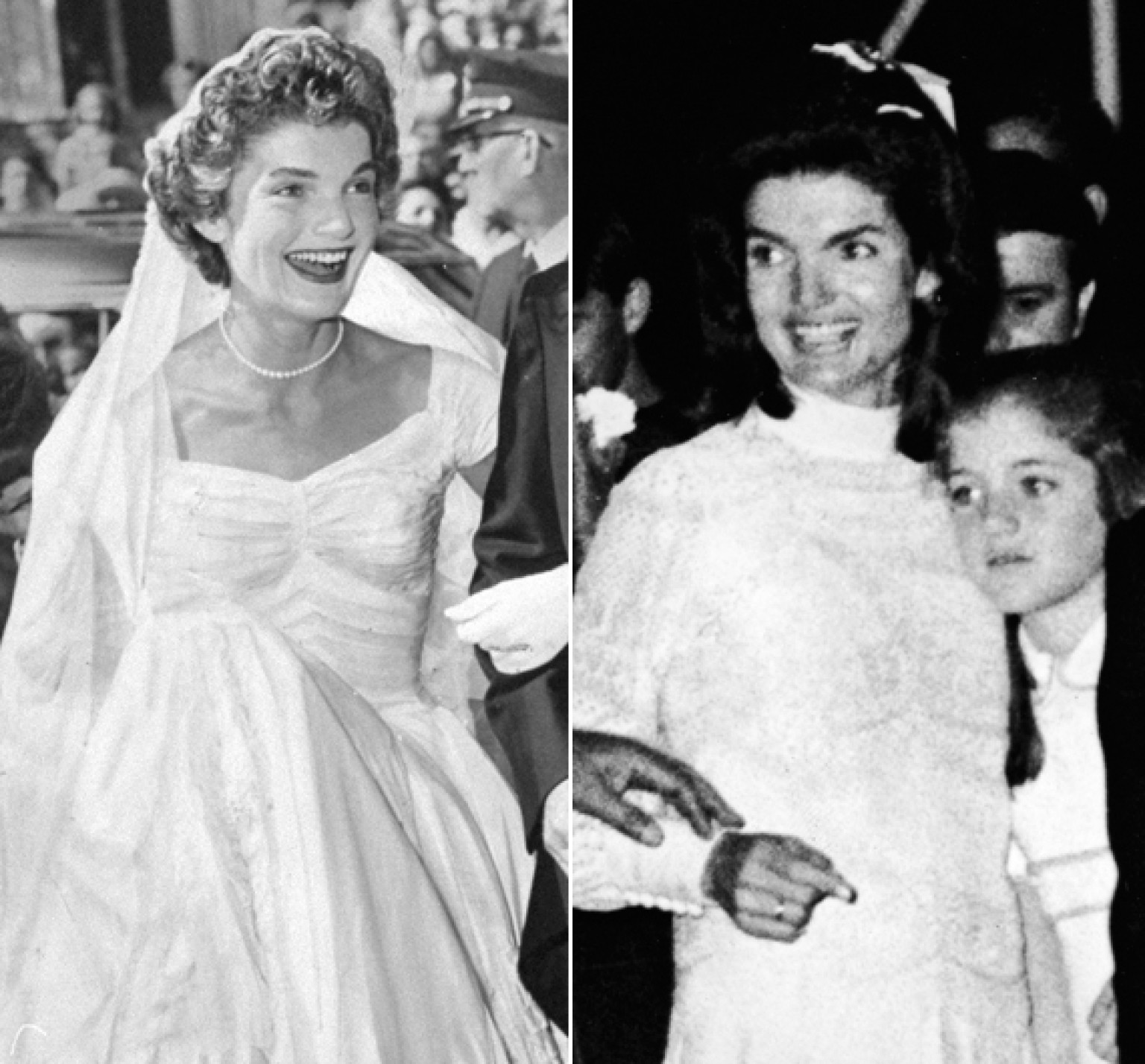 Jackie Kennedy\'s Wedding Dresses Still Make Us Swoon (Both Of Them ...