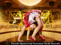 Contortionist Figures Big In New Guinness World Records Book