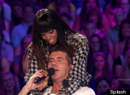 WATCH: Cowell Turns Crooner