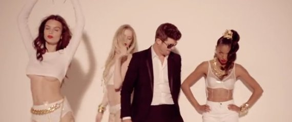 Robin Thicke's Blurred Lines Banned