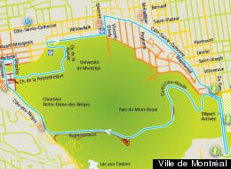 Grand Prix cycliste de Montréal: la carte des rues fermées