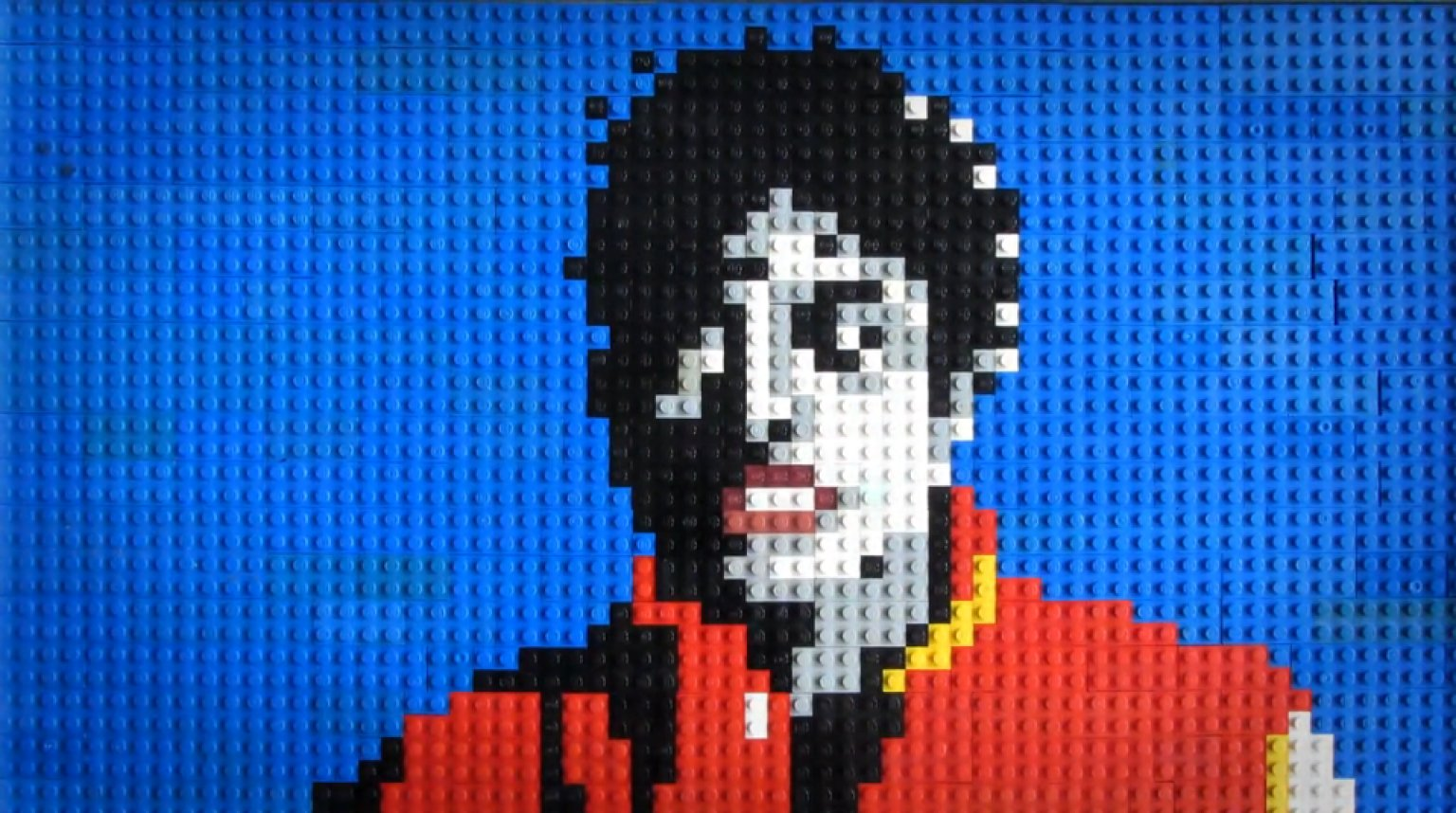 Michael Jackon S Thriller Music Video Recreated With Legos