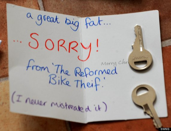 Eileen Remedios Writes Polite Note To Thief In England