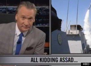 Bill Maher Syria Zimmerman