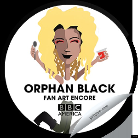 orphan black sticker
