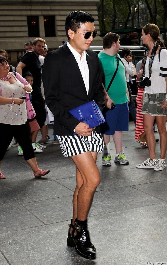 Crazy New York Fashion Week Street Style Photos Huffpost