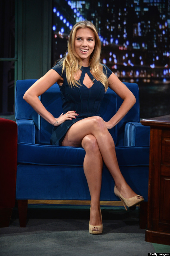 Scarlett Johansson S Gorgeous Late Night With Jimmy