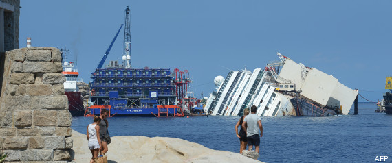 costa concordia redressement