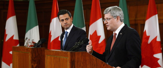STEPHEN HARPER MEXICO