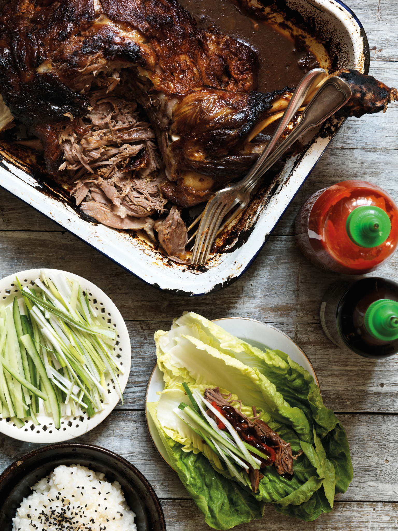 Recipes For Fast And Feast Days: Gizzi Erskine's Lamb ...