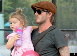 David Beckham Proud Of Harper's Good Manners