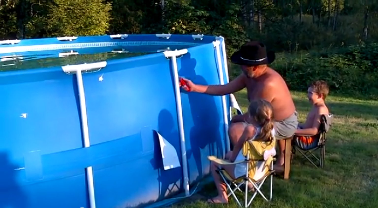 How To Empty A Swimming Pool Sort Of Video Huffpost