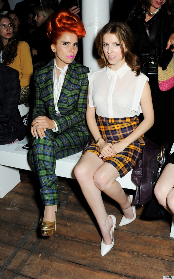 anna kendrick london fashion week