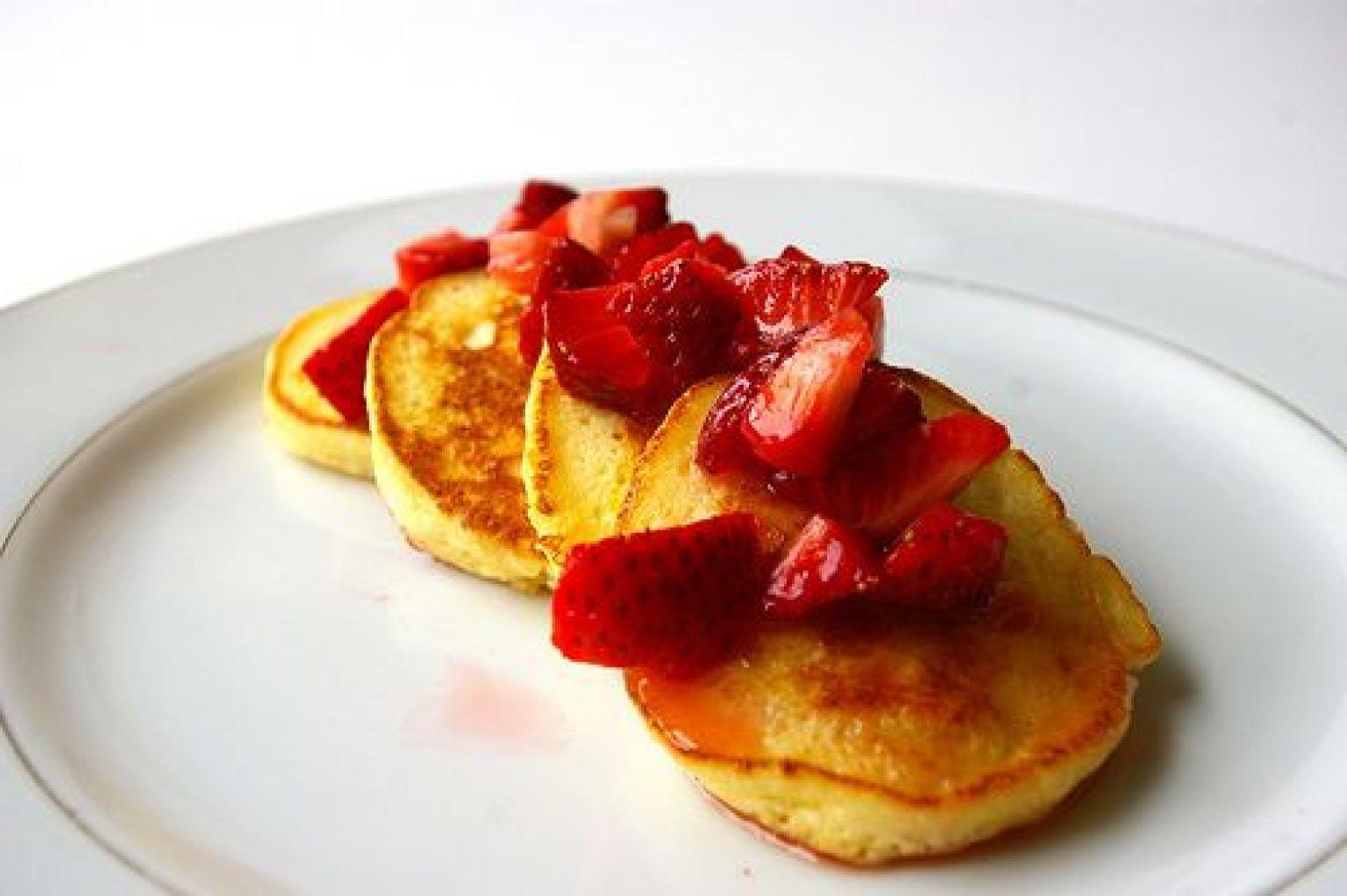 Luscious Lemon Ricotta Pancakes Recipe (for Breakfast, Lunch or Dinner ...