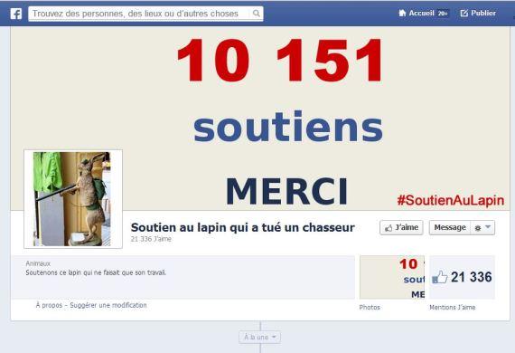 soutien lapin facebook