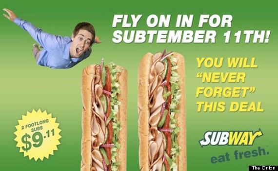 subway onion