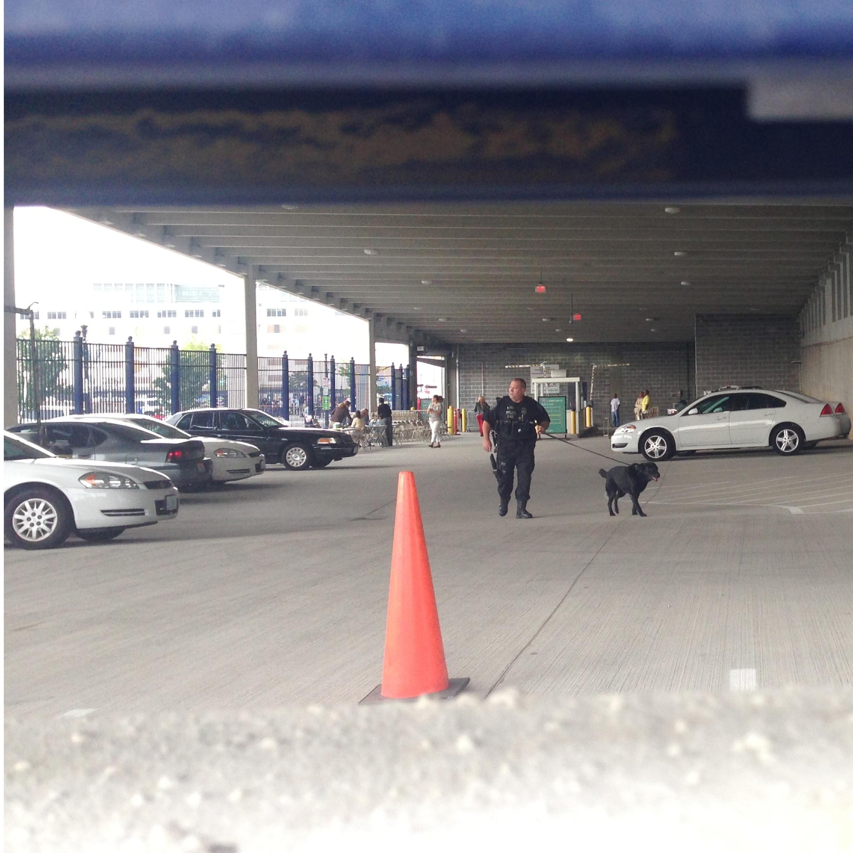 parking lot b