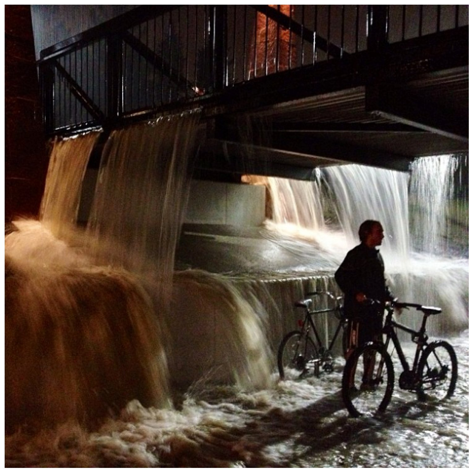university of colorado students post scenes from flooded boulder campus  photos  video