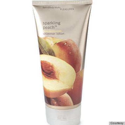 bath and body works sparkling peach lotion