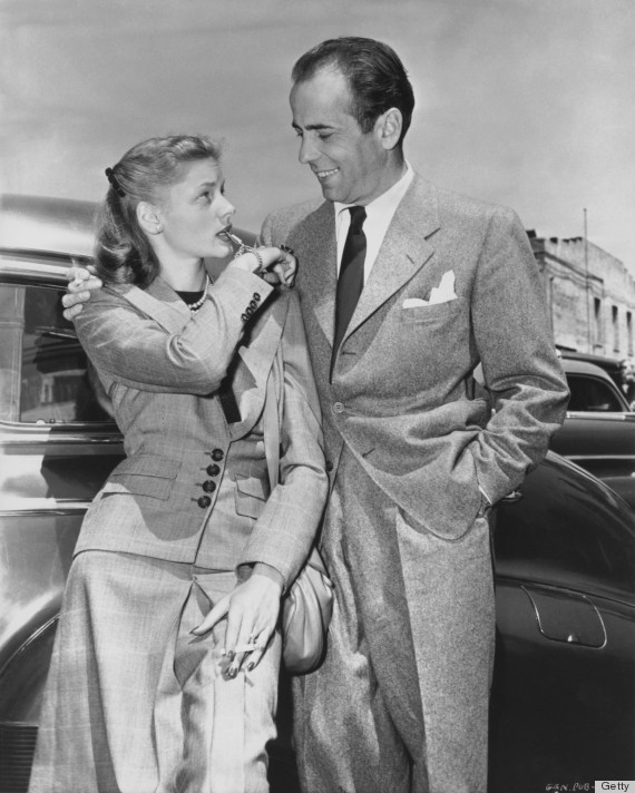 The reason humphrey bogart fell for lauren bacall photos for Lauren bacall married to humphrey bogart