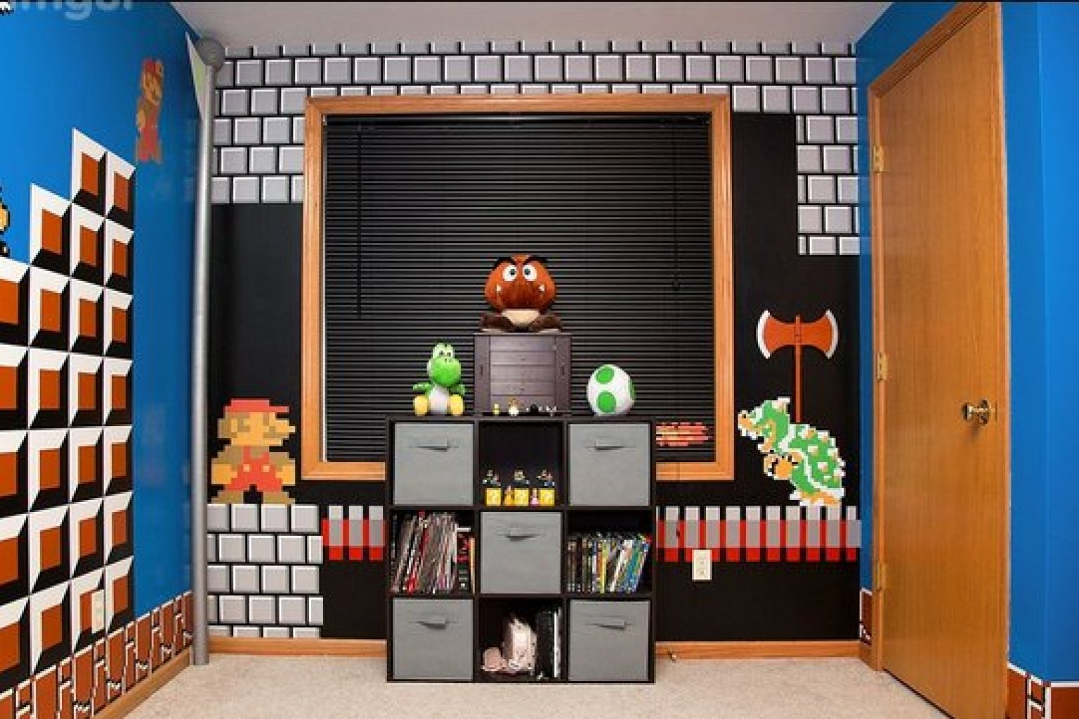 super mario bros 39 bedroom is the coolest thing ever photos chris